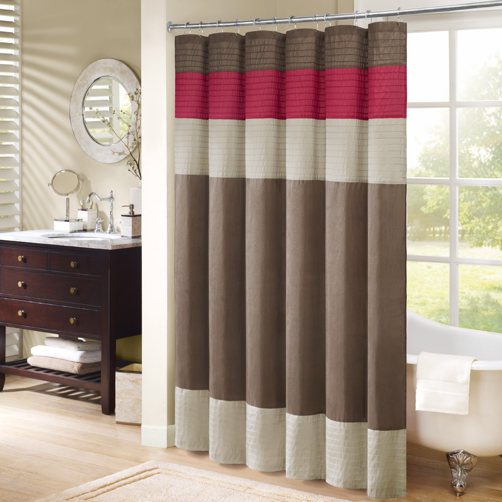 sale co shower white check gray southern curtain curtains ticking buffalo collections and