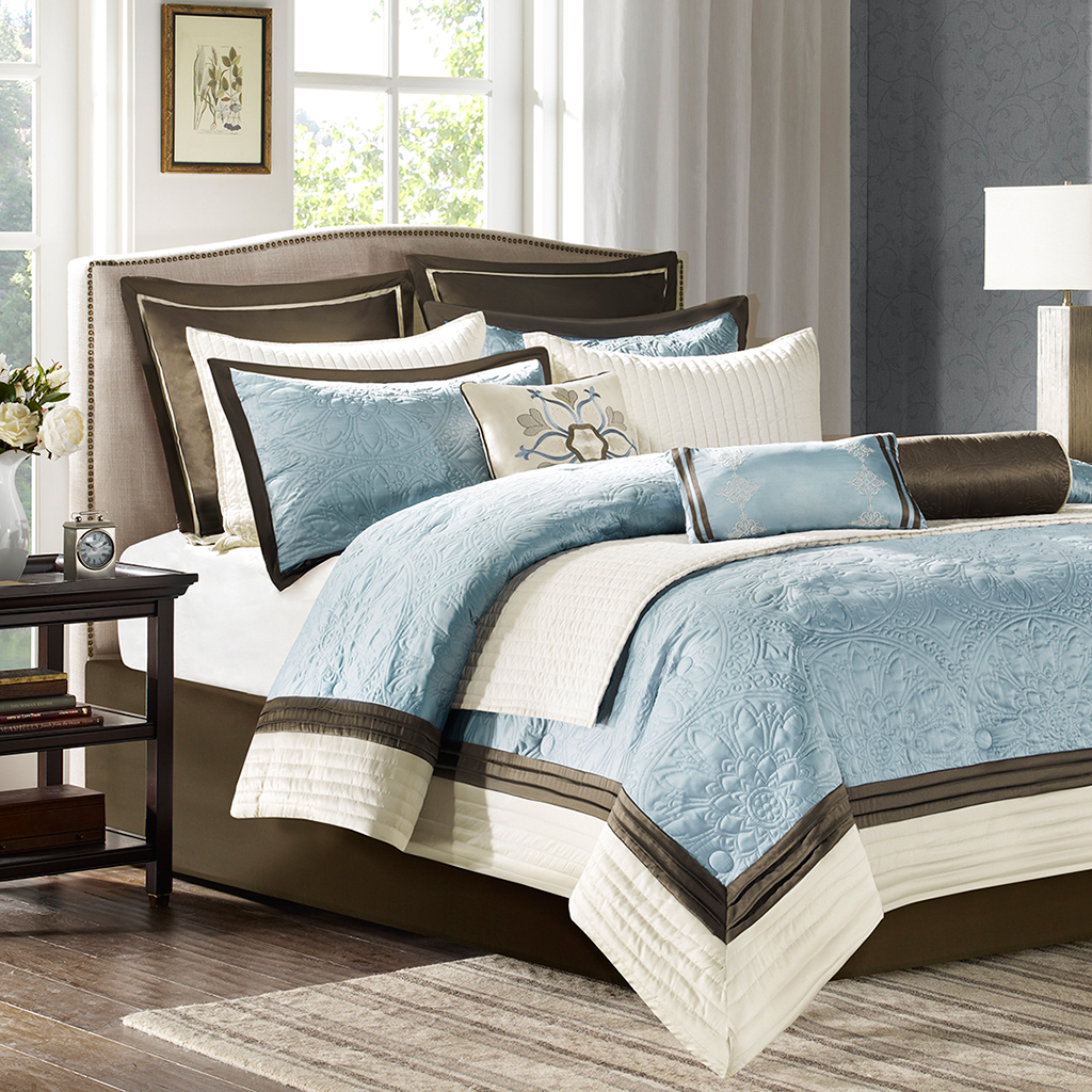 products pc lush piece set madelynn madelyn lushdecor decor queen comforter com ivory