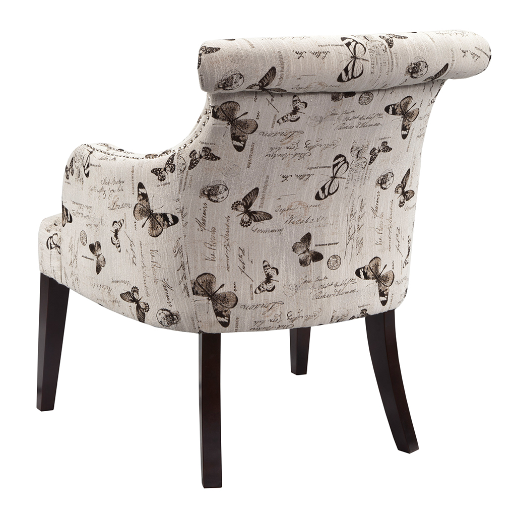 Madison Park Alexis Rollback Accent Chair Ebay