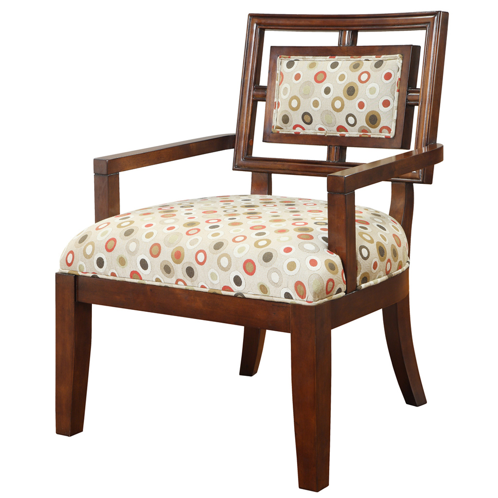 madison park daphine exposed wood arm chair ebay