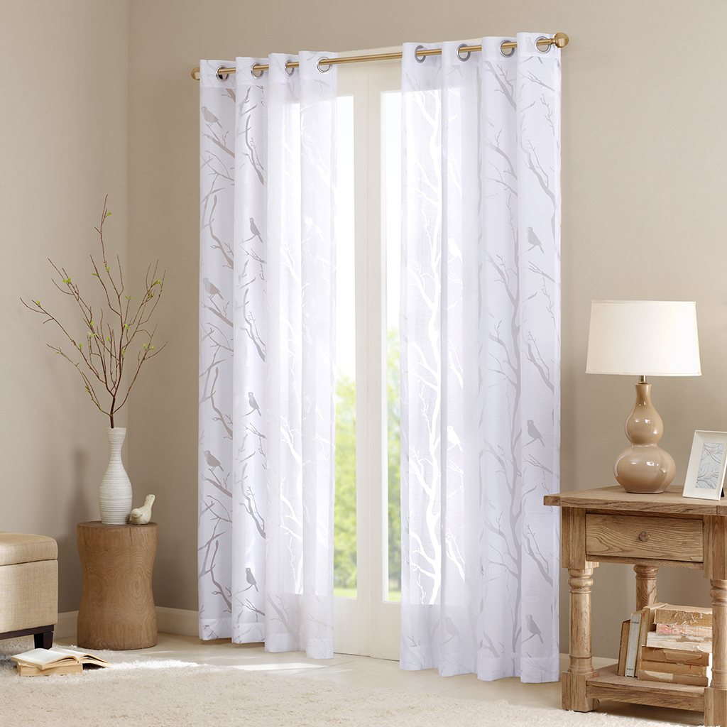 panel luxurious window com white premium set amazon voile utopia grommet sheer bedding thread curtains dp by high inches