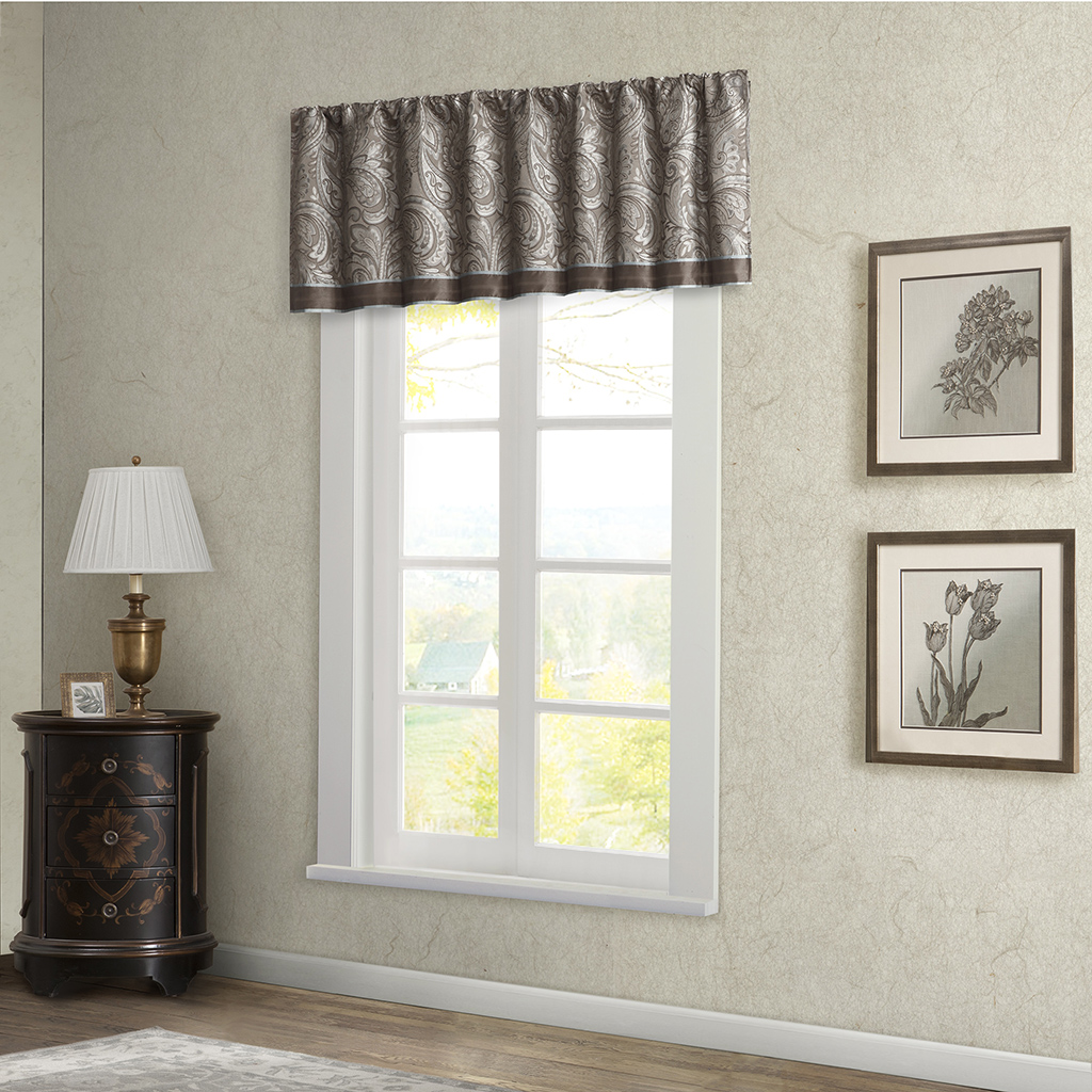 Madison Park Aubrey Window Valance Ebay