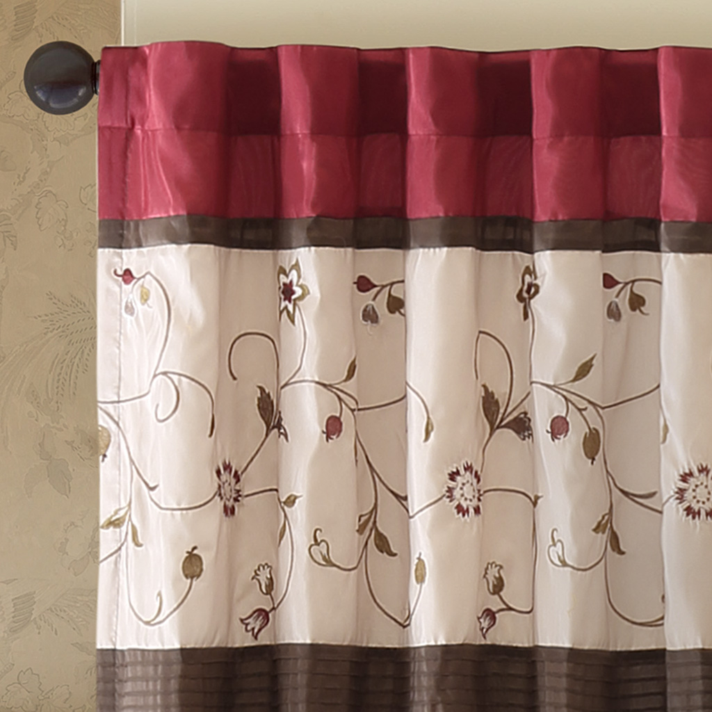 Amazing Deal On Madison Park Brighton 2 Pack Window Curtains Yellow