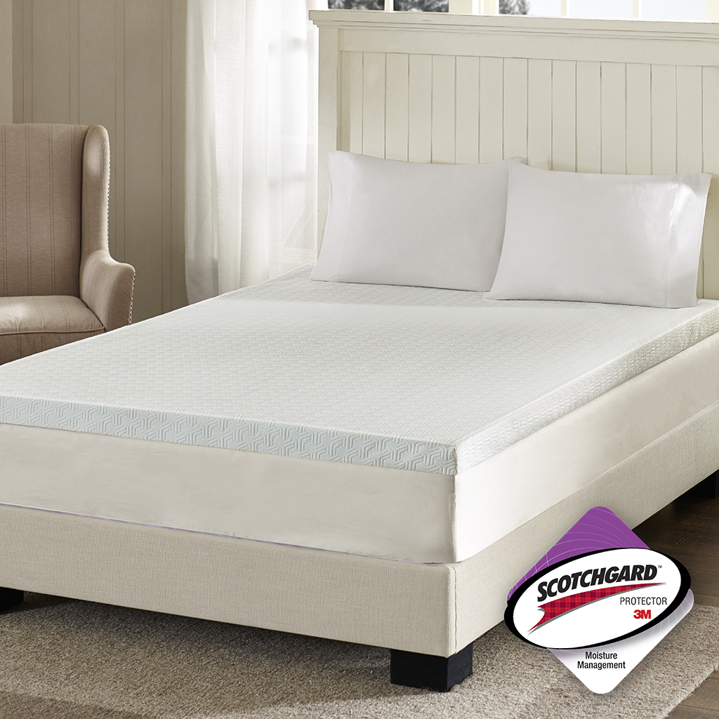 Flexapedic By Sleep Philosophy 3 Memory Foam Mattress Topper Ebay