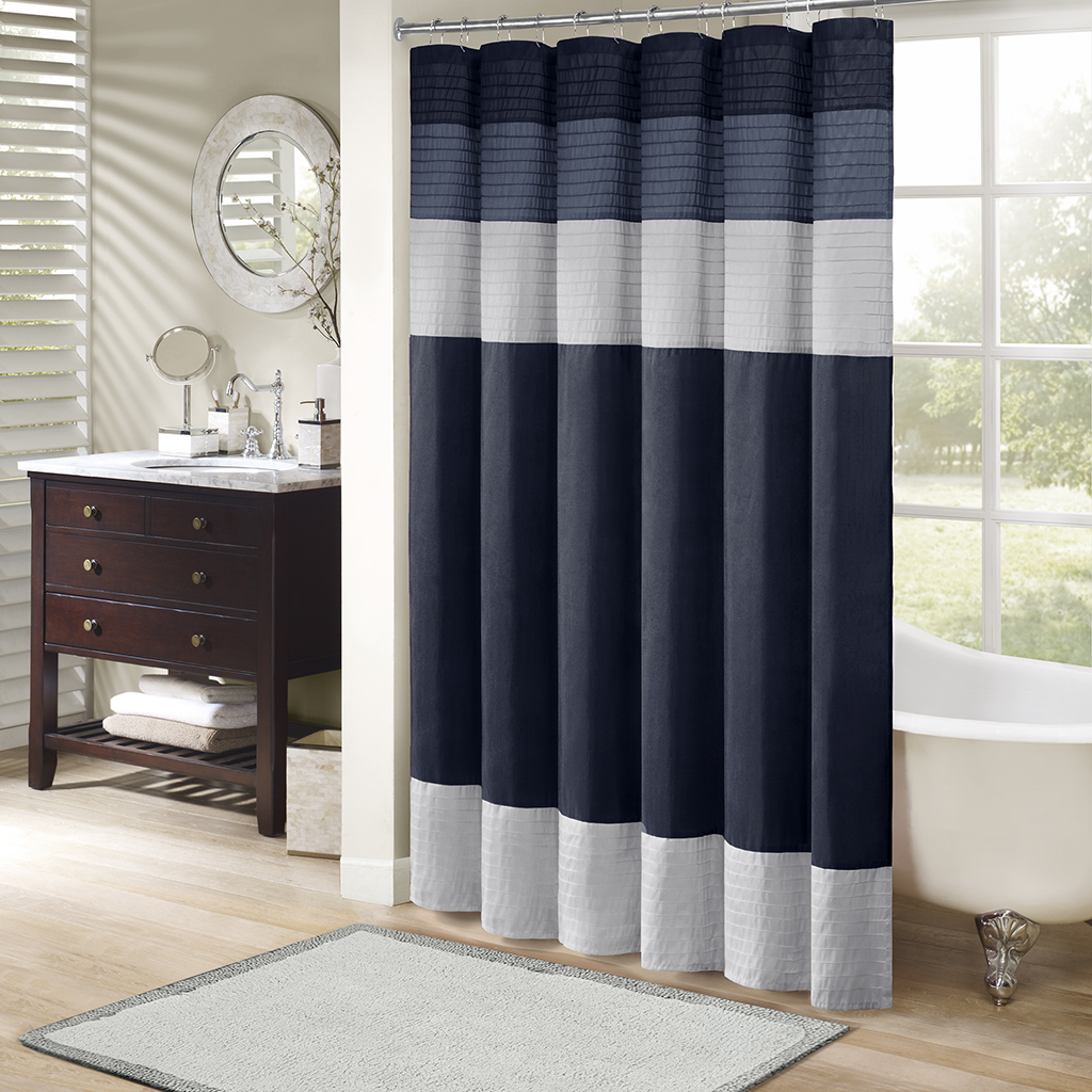 Madison Park Amherst Shower Curtain Ebay