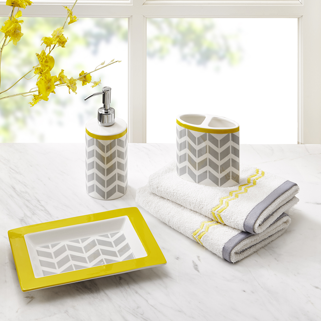 mustard yellow bathroom accessories. yellow mustard bathroom
