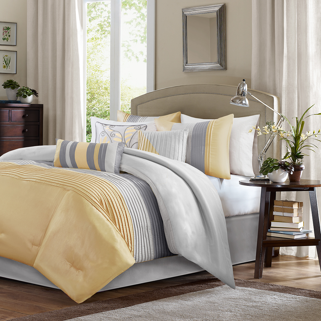 bedspreads king full navy ruffle white size bed blue comforters comforter sets furniture and yellow twin