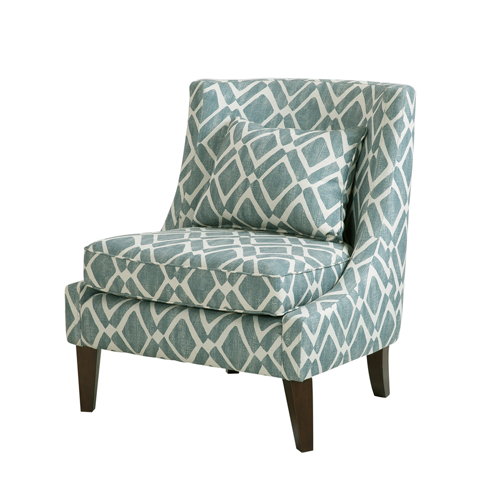 Madison Park Waverly Swoop Arm Chair