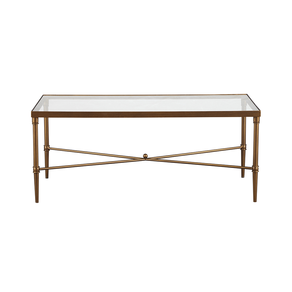 Porter Round Coffee Table: Madison Park Signature Porter Rectangle Coffee Table