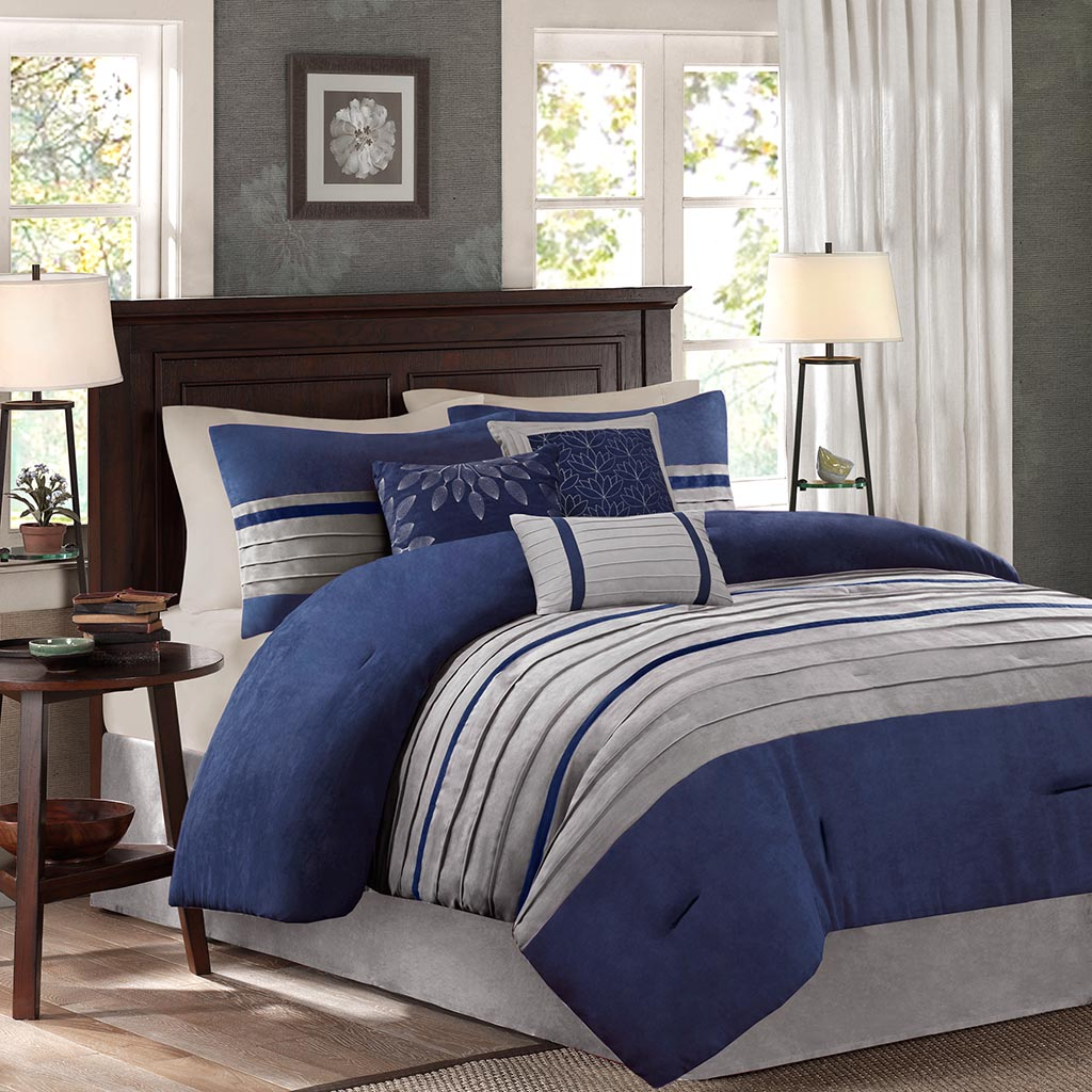 Madison Park Palmer 7 Piece Comforter Set Ebay