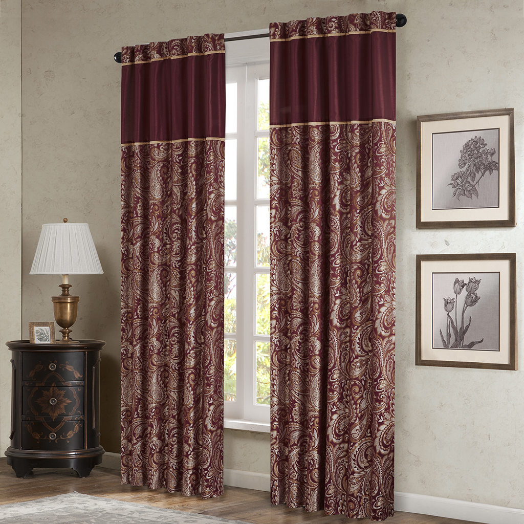 Madison Park Aubrey Window Curtain Pair Ebay