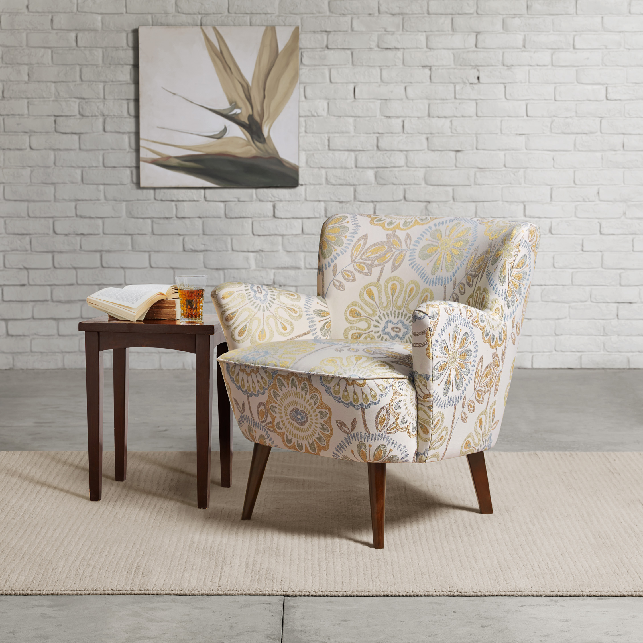 madison park sophie mid century accent chair ebay