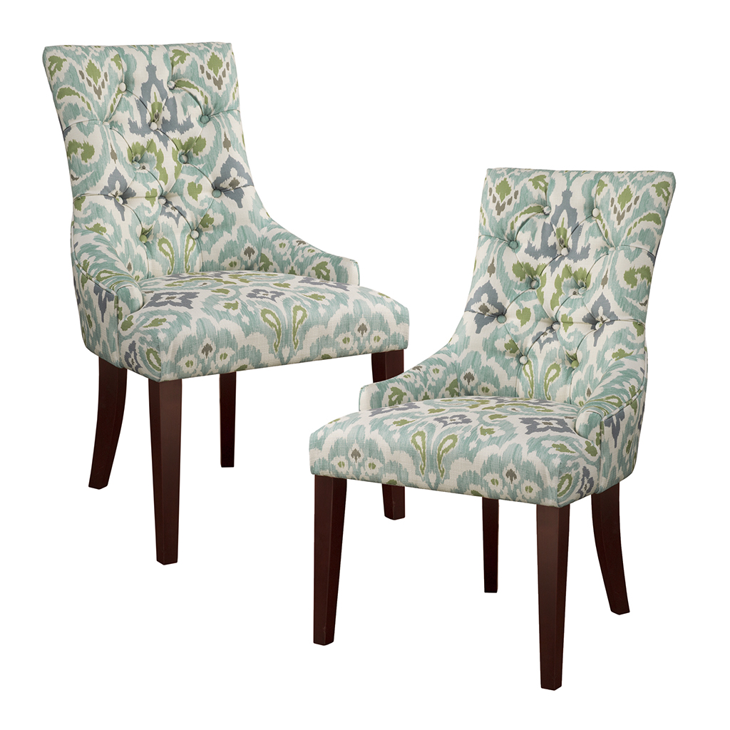 Tufted Back Dining Chair Park Avila Tufted Back Dining Chair Set Of 2 Leather Dining Room