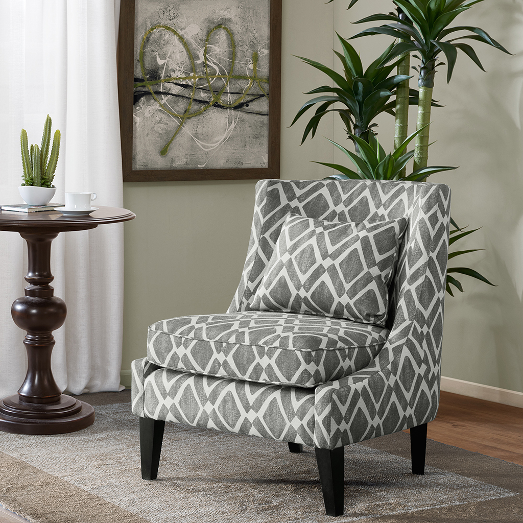 High Quality Madison Park Waverly Swoop Arm Chair