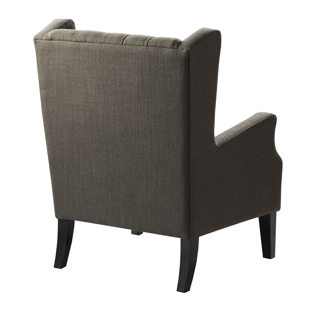 Madison Park Maxwell Button Tufted Wing Chair Ebay