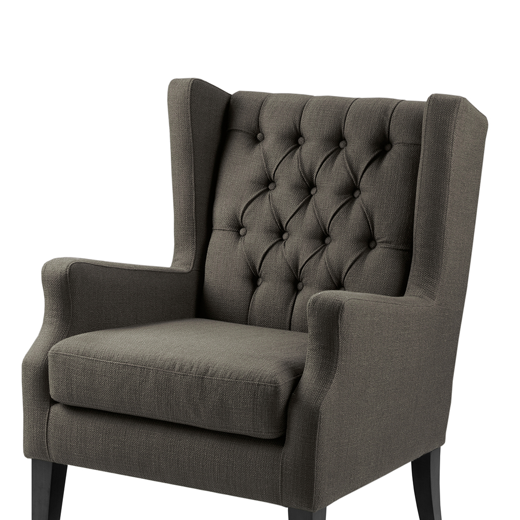 Madison Park Maxwell Button Tufted Wing Chair