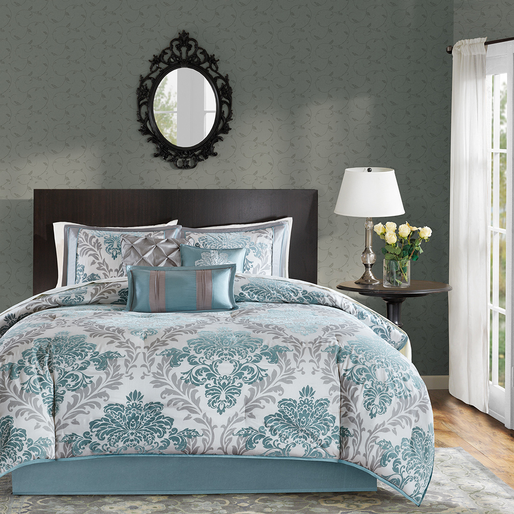 Madison Park Bella 7 Piece Comforter Set Ebay