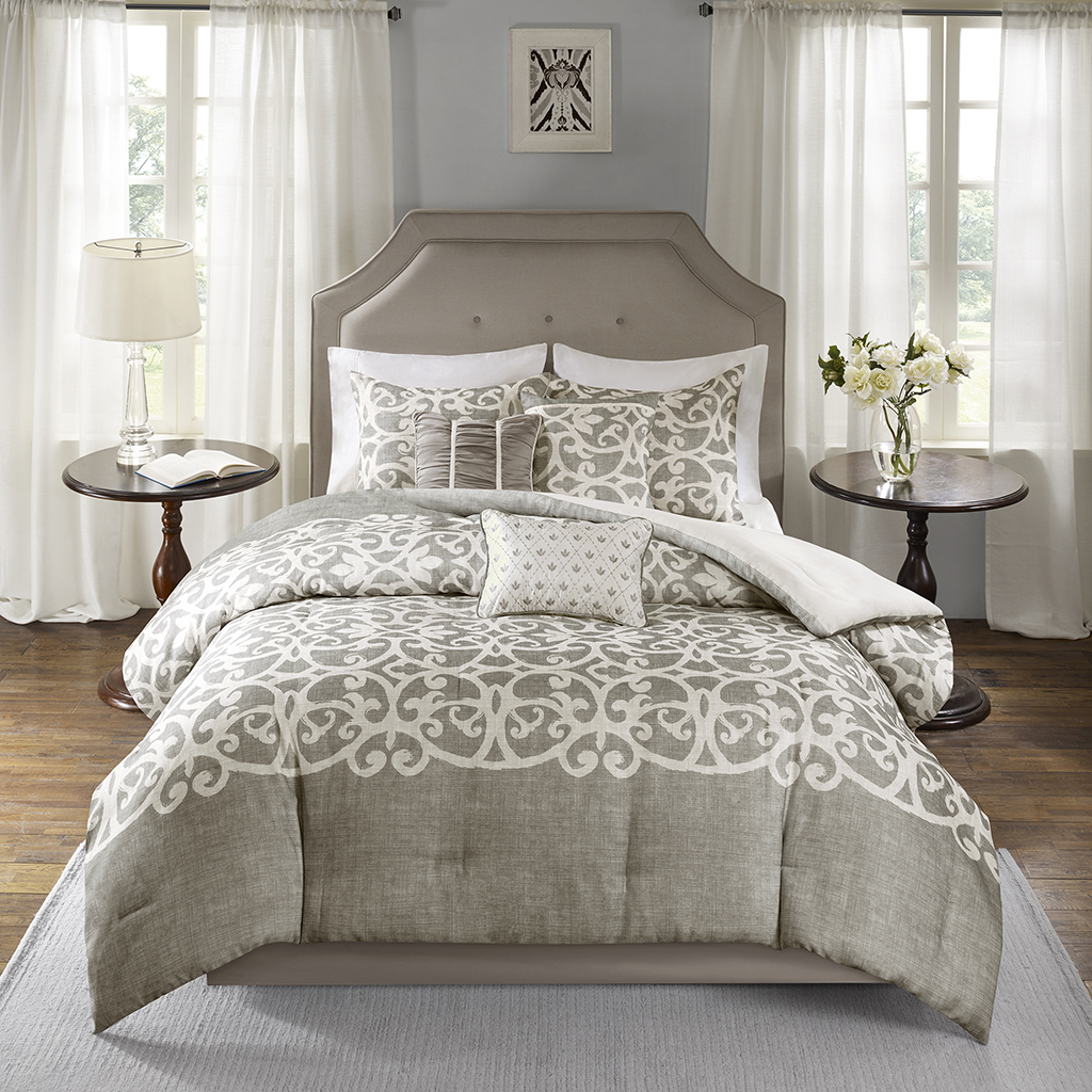 Madison Park Cortana 7 Piece Comforter Set Ebay
