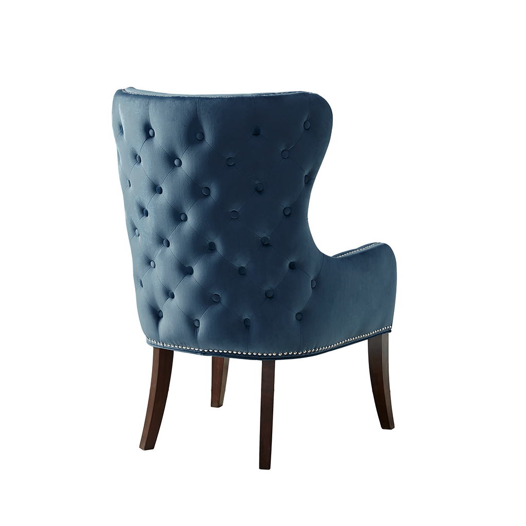 Madison park hancock button tufted back accent chair Tufted accent chair