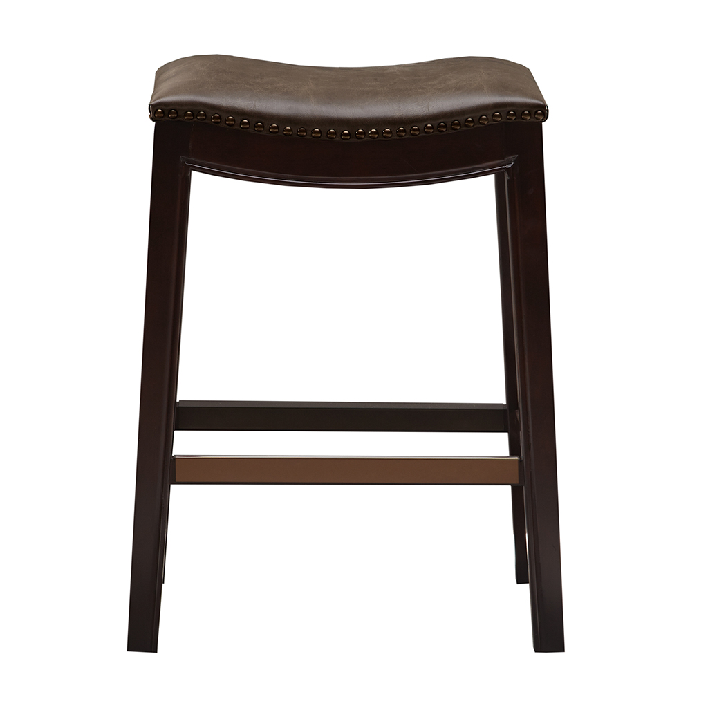 Madison Park Belfast Saddle Counter Stool