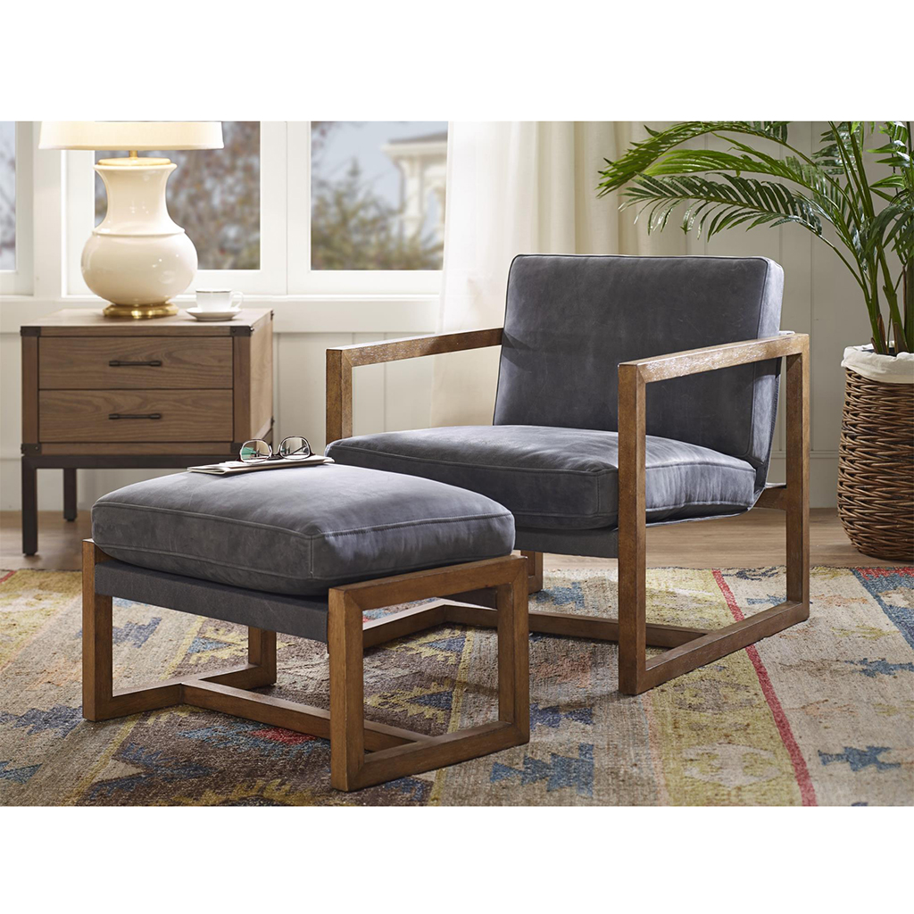 Harbor House Durham Leather Sling Chair