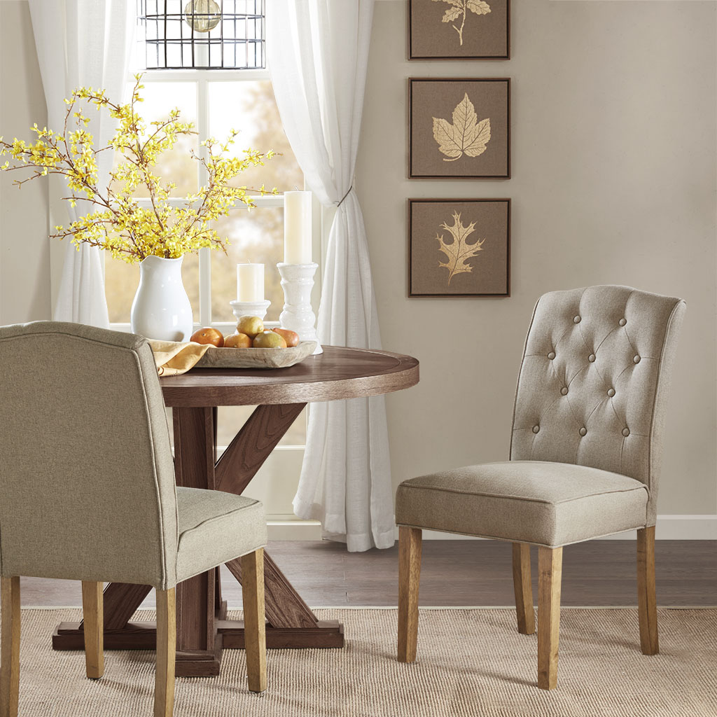 Madison Park Marian Tufted Dining Chair Set Of