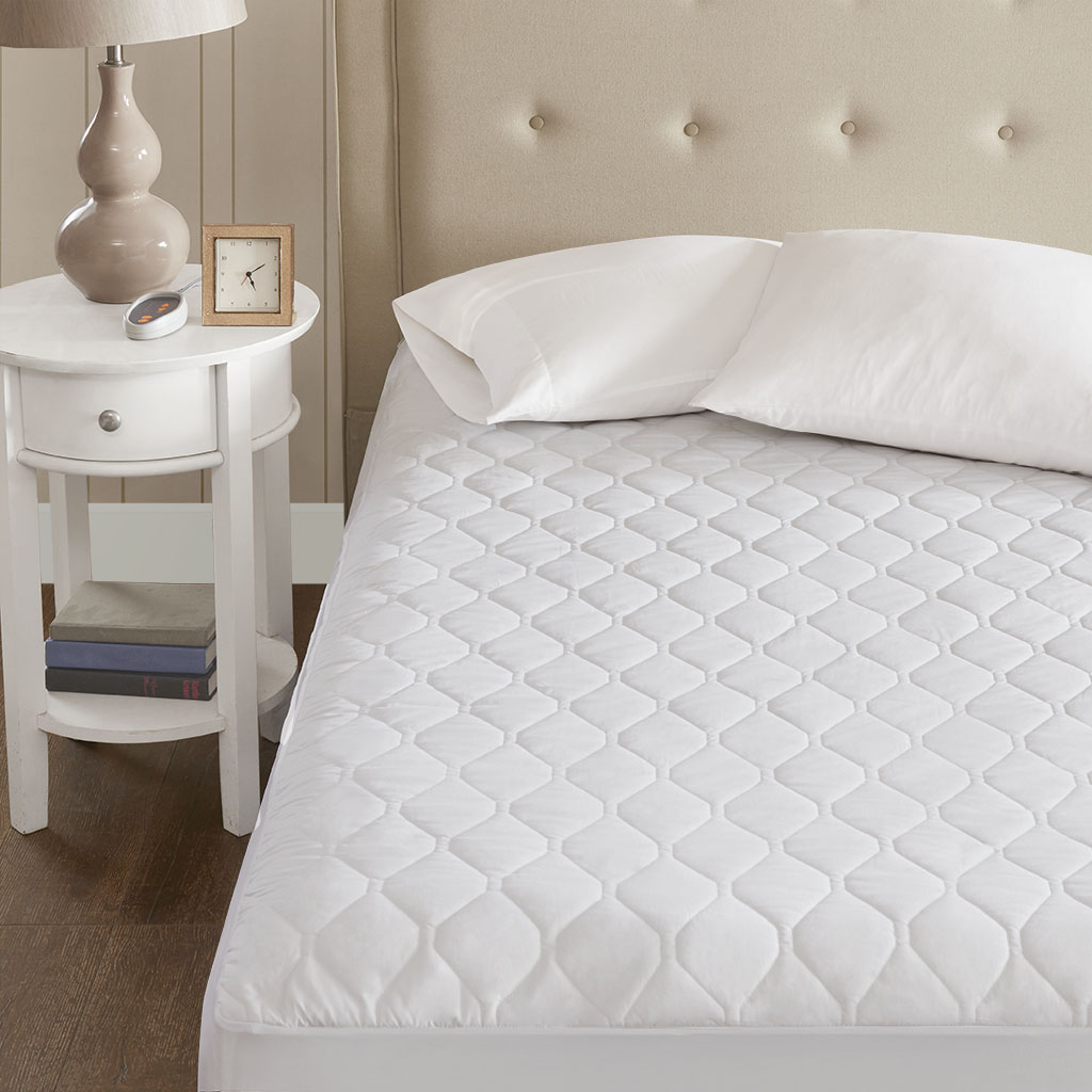 Beautyrest Heated Microfiber Mattress Pad With 3m