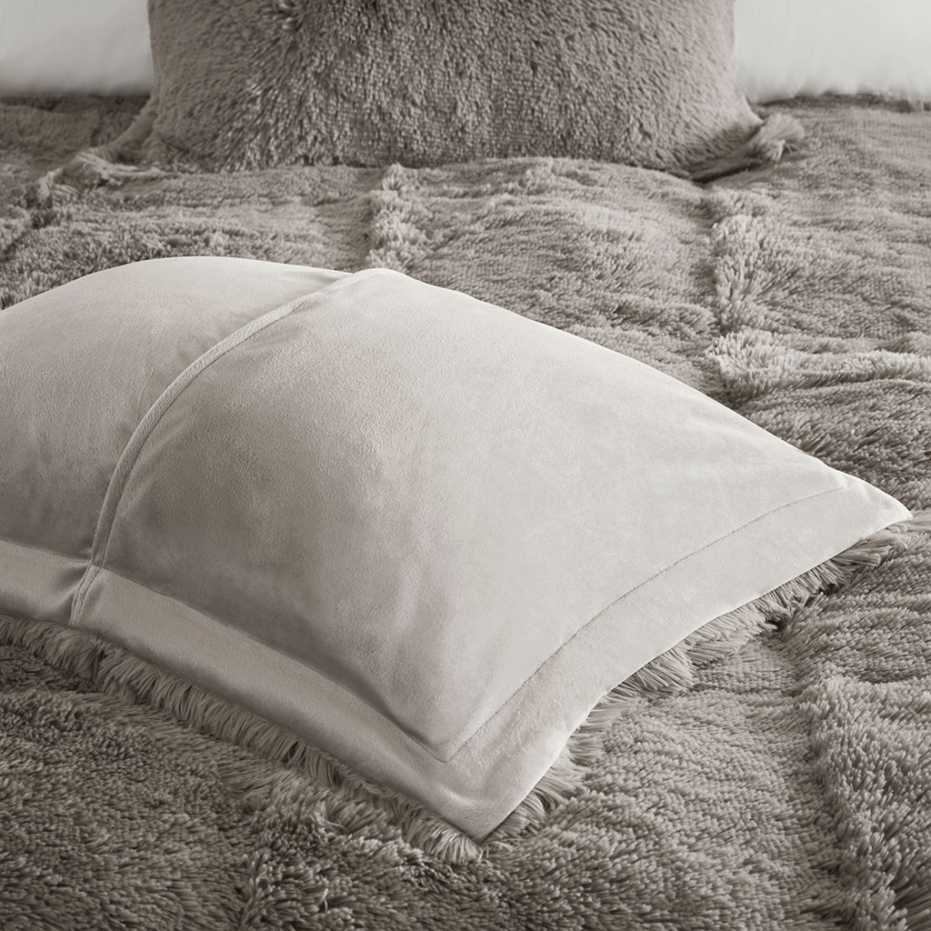 Intelligent Design Malea Shaggy Faux Fur Comforter Set Ebay